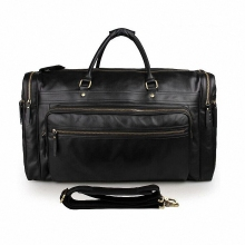 Luxury First Layer Cowskin men's travel bags Vintage Brand Genuine Leather handbag Big men Business Luggage bag 2016 New LI-1270