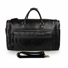 Luxury Erste Schicht Rindsleder herren reisetaschen Vintage Marke Aus Echtem Leder handtasche Große männer Business gepäcktasche 2016 Neue LI-1270
