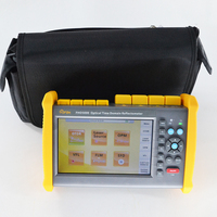 Touch screen FHO5000 MD21 SM&MM 850/1300/1310/1550nm 19/21/35/33dB Multimode OTDR Built in VFL and power meter and FLM