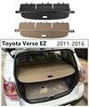 Задний багажник Грузовой чехол для Toyota Verso EZ 2011 2012 2013 2014 2015 2016 высокое качество защитный щит авто аксессуары