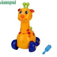 2017 Fashion Disassembly Deer Design Educational Toys For Children Kids Levert Dropship Sep19