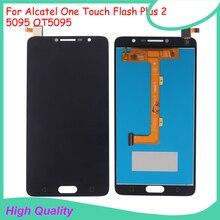 Оригинальное качество для Alcatel One Touch flash plus 2 5095 OT5095 ЖК-дисплей с кодирующий преобразователь сенсорного экрана в сборе гарантия