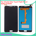 Original Quality For Alcatel One Touch Flash Plus 2 5095 OT5095 LCD Display With Touch Screen Digitizer Assembly 100% warranty