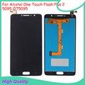 Qualidade original para alcatel one touch flash plus 2 5095 ot5095 display lcd com tela de toque digitador assembléia garantia de 100%