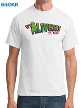 Funny Print Tops Men'S   Its Alive Frankenstein  Crew Neck New Style Short Sleeve Tee Shirt white floral print crew neck short sleeves gym tops
