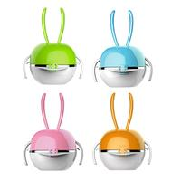 Baby's Stainless Tableware Set Baby Feeding Plate Set Bowl Cup Spoon Fork 5pcs/sets Cartoon Baby Dinnerware Kids Dishes