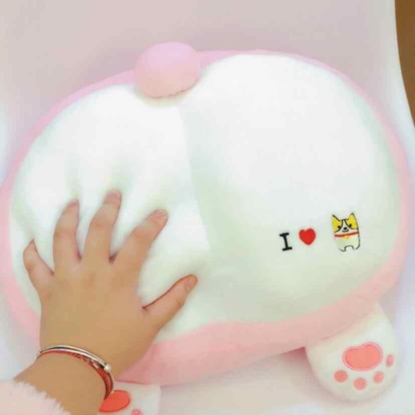 1 шт. милый 42 см стильная футболка с изображением персонажей видеоигр Животные Собака корги butt плюшевые подушки Новинка стул подушка Kawaii игрушки куклы смешной подарок
