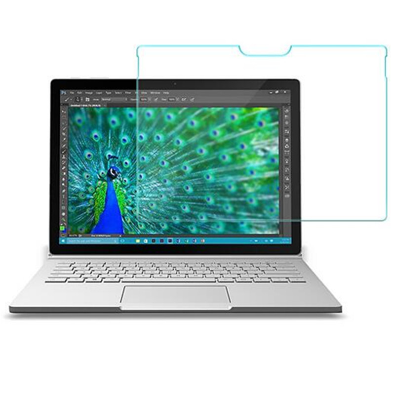 Tempered Glass Screen Protector For Microsoft Surface Book 1 / 2 / Book1 Book2 / 13.5 inch TAB Tablet Protective Film ...