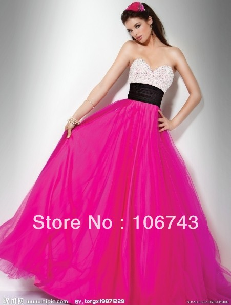 free shipping 2018 new sweetheart vestido de festa long Formal s-line beaded Pageant Elegant party prom gown   bridesmaid     dresses