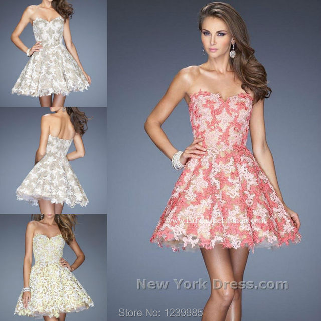 2017 Prom dress kate middleton dress Sweetheart Applique Sexy New ...