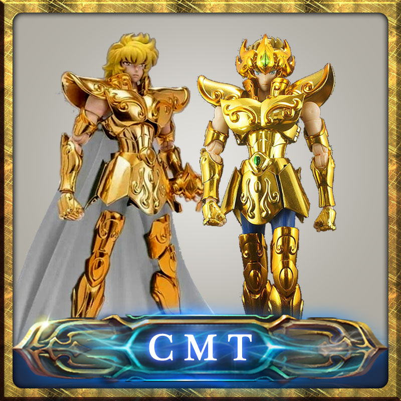 CMT RESTOCK Metal Club Model Leo Aiolia OCE and Normal version Saint Seiya metal armor Myth Cloth Gold Ex2.0 Action Figure cmt aurora model cs model saint seiya oce ex libra dohkor action figure cloth myth metal armor