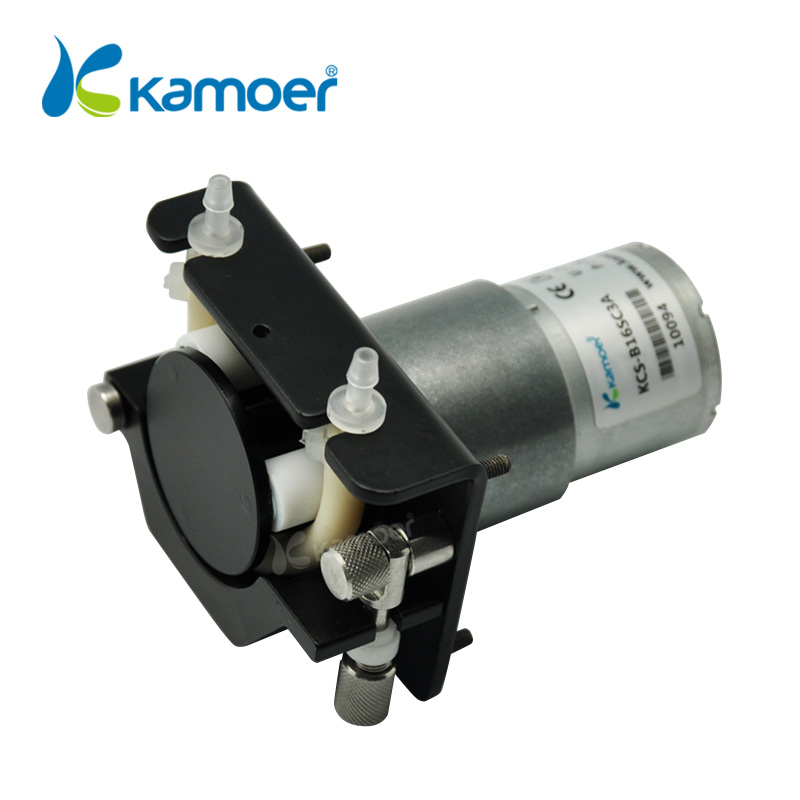 цена на Kamoer KCS mini peristaltic pump 24V electric water pump with high percision peristaltic dosing pump with 24V dc motor