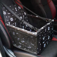Cão de estimação portador de assento de carro almofada segura transportar casa cães dobrável grosso animais de estimação gato cão carro reforço capa de assento saco transporte rede coisas
