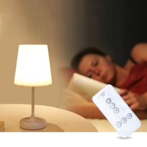 Image 3 - ĐÈN LED Đọc Sách Bảo Vệ Mắt Để Bàn Cảm Ứng Âm Trần Sạc USB Có Điều Khiển từ xa Đèn Bàn Chiếu Sáng Đèn Ban Đêm