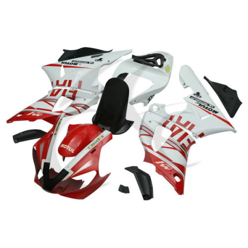 Red ABS Plastic Fairing Body Work Set For Yamaha YZF R6 YZF-R6 1998-2002 2001