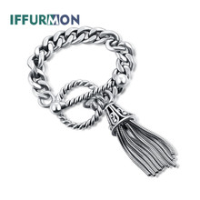 IFFURMON Sterling Silver 925 Engagement Rings For Women Birthday European Tassel Decorative Elegant Fine Jewelry Accessories