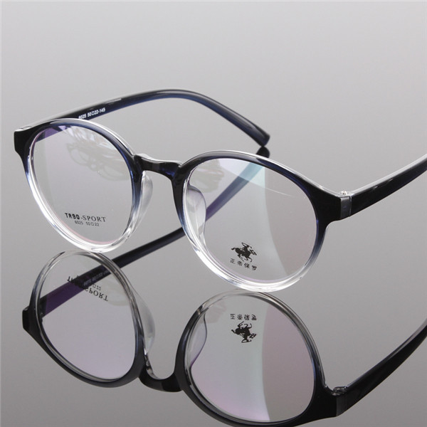 bfc196990c3 Vintage round Spectacles Gradient eyeglasses frame men women myopia ...