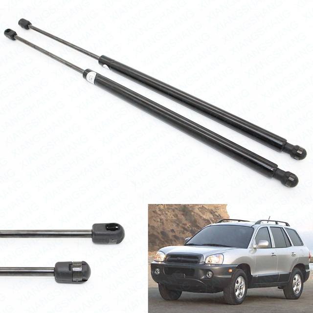 (2) Capó Delantero Auto Cargada de Gas Struts Lift Soporte Para 2001 2002 2003 2004 2005 2006 Hyundai Santa Fe
