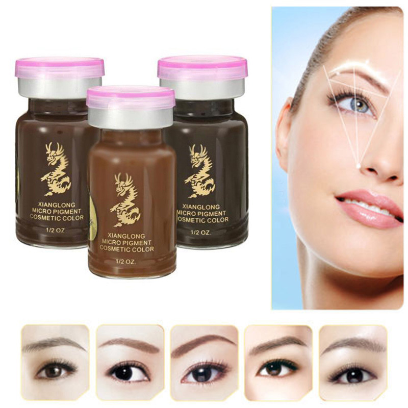 Good Quality Permanent Eyebrow Tattoo Pigment 3d Micropigmentation Brows Ink Emulsions Eyebrow Tattoo Pigment