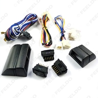 Universal Power Window 3pcs Switches With Holder And Wire Harness FD 2468