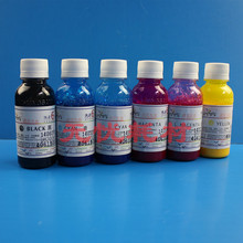 100ML 6Bottle Universal Compatible Heat transfer Ink kit For Epson Printer Cotton printed T-shirt Pigment pyrograph Special Ink