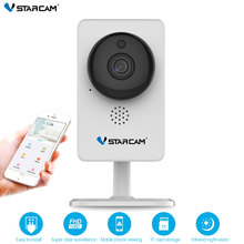 Vstarcam мини Wi Fi камера 1080 P Инфракрасный Ночное Видение движения сигнализации видео ip-камера с монитором C92S белый
