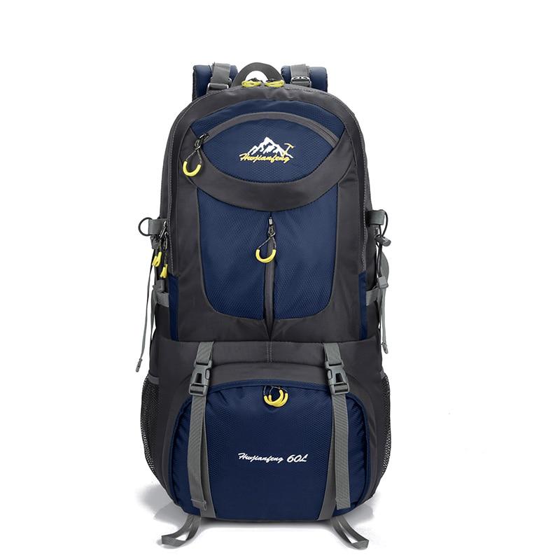 Backpack 40 Liters-60L Nylon Backpacks Woman 2018 Travel Sports Hiking Backpacks Many Pockets For Climber Backpack Men Camping