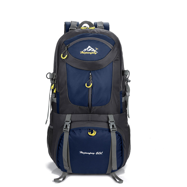 Backpack 40 Liters-60L Nylon Backpacks Woman 2018 Travel Sports Hiking  Backpacks Many Pockets For Climber Backpack Men Camping 9130789c889f7