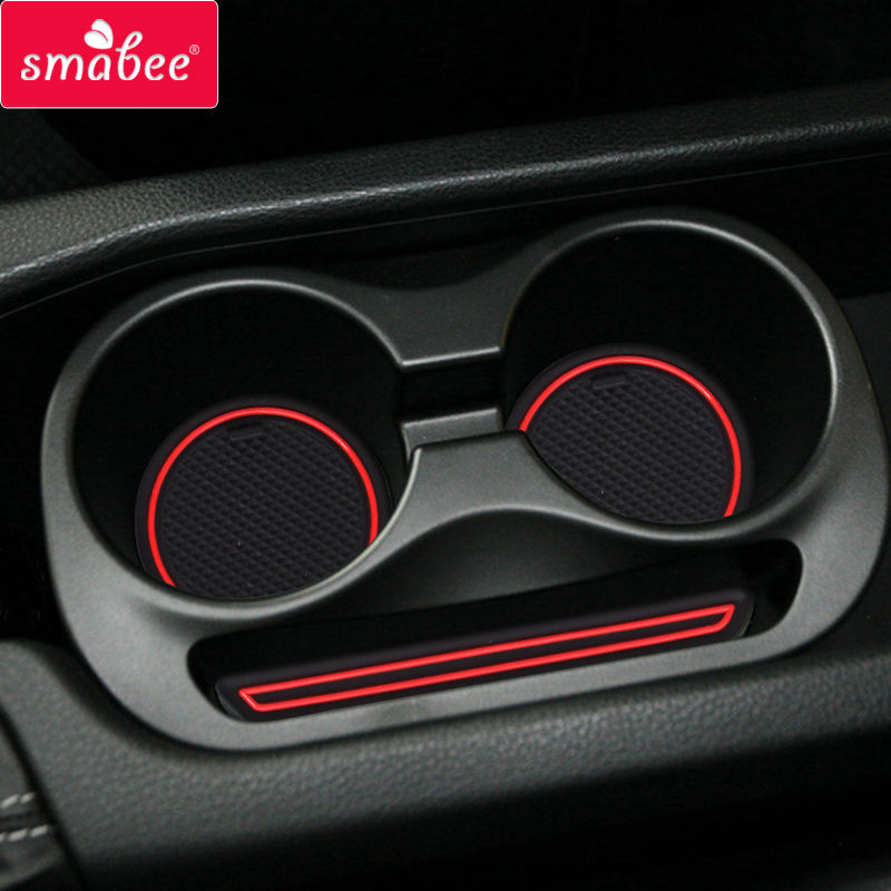 smabee Gate slot pad For Toyota 86/subar BRZ Accessories,3D Rubber Car Mat red/blue/whit ...