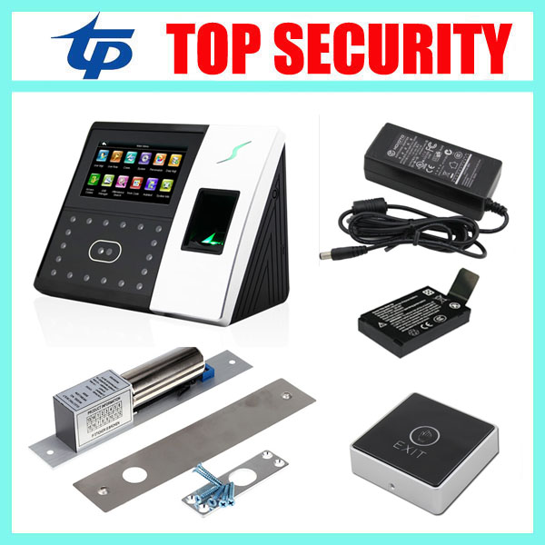 TCP/IP biometric face recognition door access control system with fingerprint reader and back up battery door access controller tcp ip biometric face recognition door access control system with fingerprint reader and back up battery door access controller