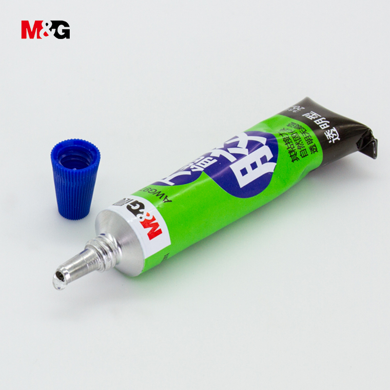 M&G Wholesale 20ml universal liquid glue for Glass Metal Plastic brand quality school supplies stationery office adhesive glue