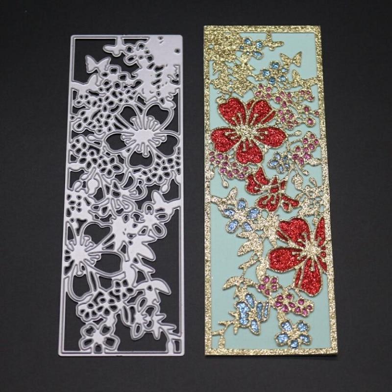 Frame Lace Metal Cutting Dies Stencil Scrapbook Album Paper Card DIY Embossing