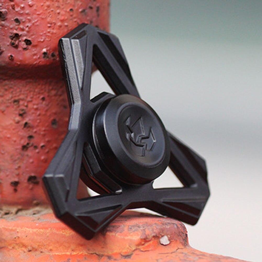 Лидер продаж черный треугольный ручной Spinner Высокое качество профессии металла счетчик ВДГ игрушки СДВГ стресса игрушки