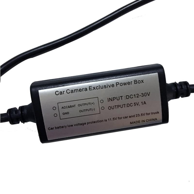 Avtomobil Mühafizəsi Hard Wire Kit 12V-dən 5V-dək Avtomobil Video - Avtomobil elektronikası - Fotoqrafiya 4