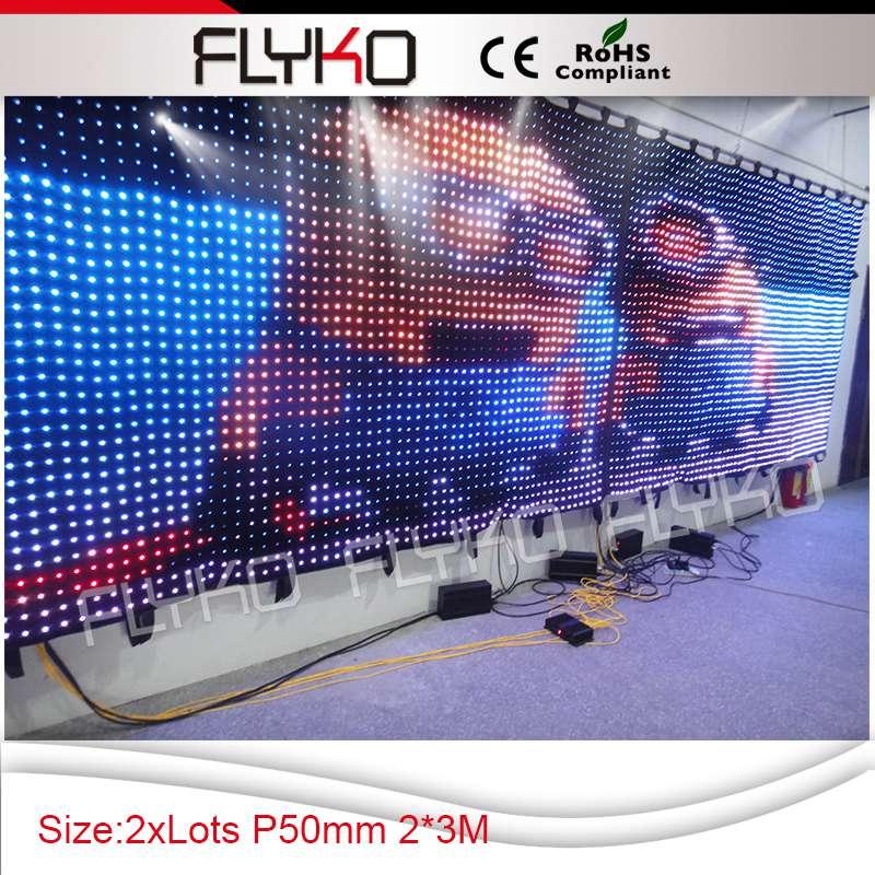 ⃝P50MM 2x3 m certificado CE y RoHS pantalla led para la decoración ...
