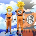 Anime Dragon Ball Z GoKu Cosplay costumes GUI Complete Outfits Fancy Party Kid Clothing for Halloween Children Gift