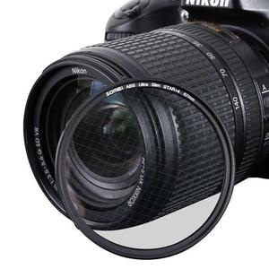 "Image 5 - Zomei ABS אופטי זכוכית מדעך כוכב קו כוכב מסנן 4/6/8 נקודת מצלמה Filtro Slim 49/ 52/58/67/72/77/82 מ""מ עבור Canon Nikon Sony"