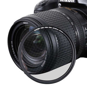 Image 5 - Zomei Filtro de cristal óptico ABS, Fader, Star Line, 4/6/8 puntos, cámara, Filtro Delgado 49/52/58/67/72/77/82mm para Canon Nikon Sony