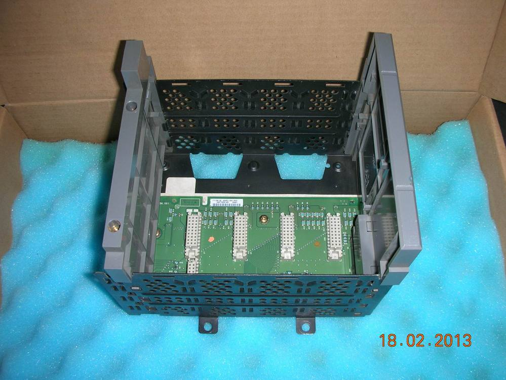 AB PLC 1746-A4 (4 slots Hot framework) 1pc used plc 1746 ow4 ab