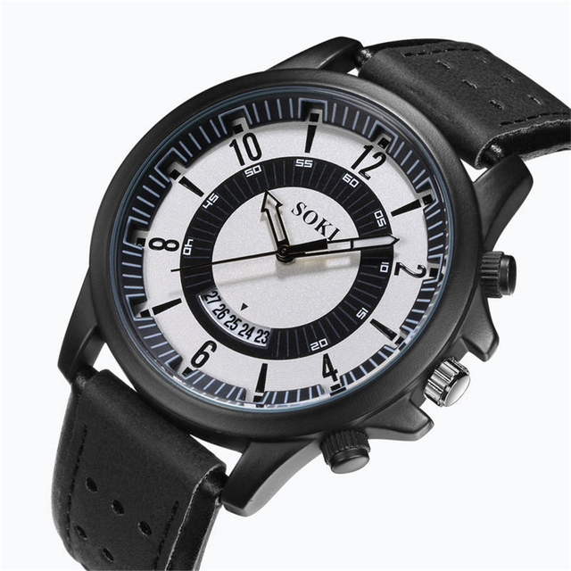 Casual Military Sport Men's Watch High Quality Quartz Analog Wristwatch 1