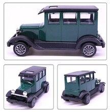 10.5 Cm Warna Hijau Skala 1:43 Mainan Mobil Logam Paduan Menarik Kembali Diecast Klasik Mobil Kendaraan Model Anak Anak Koleksi mainan