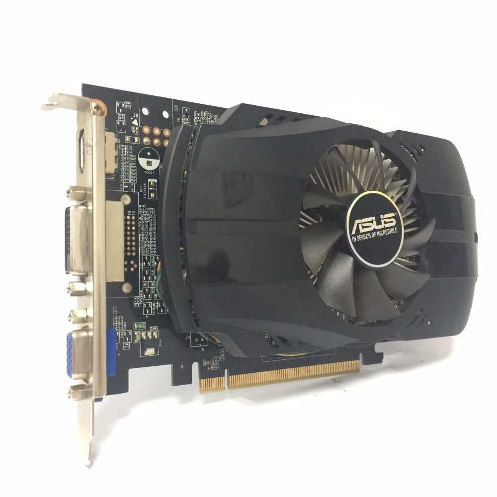 Asus GTX-750-FML-2GB GTX750 GTX 750 2G D5 DDR5 128 Bit MÁY TÍNH Để Bàn PC Card đồ họa PCI Express 3.0 Đồ Họa máy tính thẻ 750 2GB