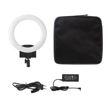RL-560D RL-860D Photogtaphy LED Ring Light Bi-color 3200K-5600K for DSLR Camera Smartphone Photo Self-portrait Video Shooting