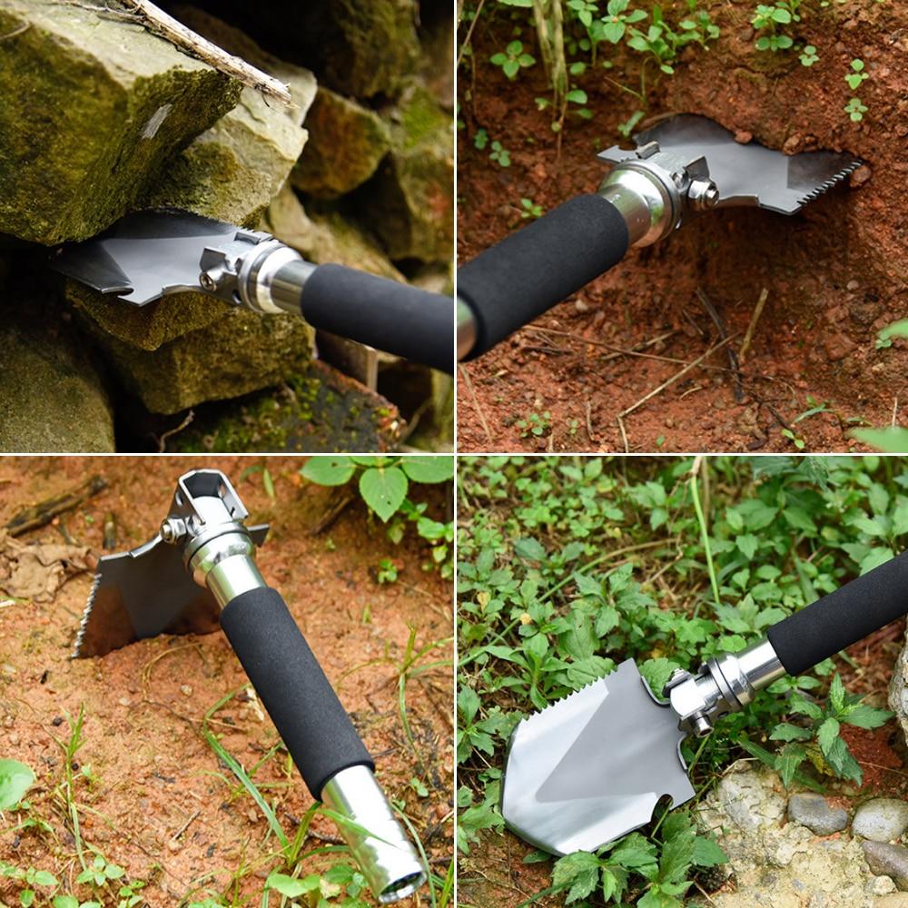 New Garden Tools of Mini Military Portable Folding Shovel Survival ...