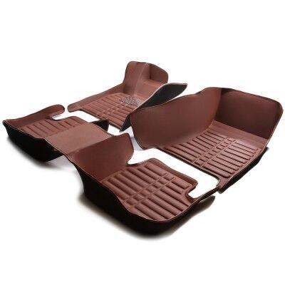 Myfmat new car floor mats foot case for Peugeot 301 2008 308 408 508 3008 RCZ 208 4008 308S Caddy Combi VR6 multivan Golf GTI CC