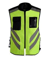 Sports safety warning vest fluorescent riding clothes motorcycle reflective vests