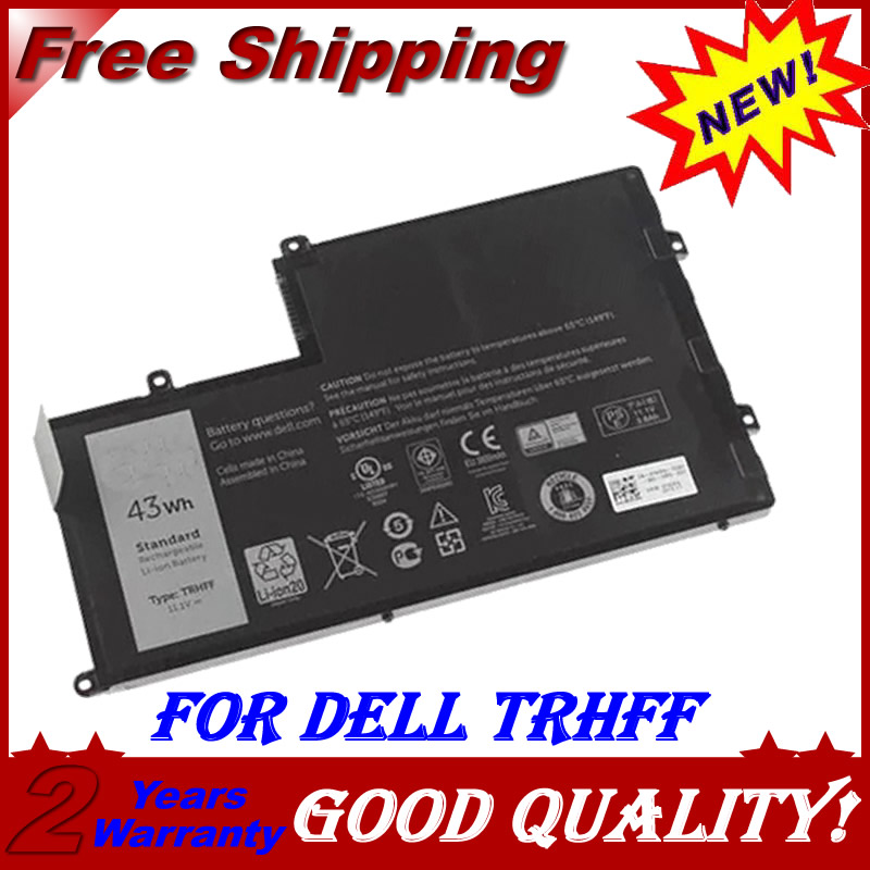 3 CELLS Laptop Battery For Dell for Latitude 3450 for Vostro 14-5480D 1V2F6 TRHFF 01v2f6 for Inspiron 15 5000 15 5547 new 12 cells laptop battery for dell latitude e6400 e6410 e6500 e6510 pt434 pt435 pt436 pt437 free shipping