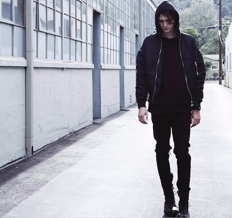 Man Si Tun New Hip Hop Best Version 2017 Fear of God FOG Zippers Skinny Slim Fit Mens Distressed Bieber Black Cotton Denim Jeans
