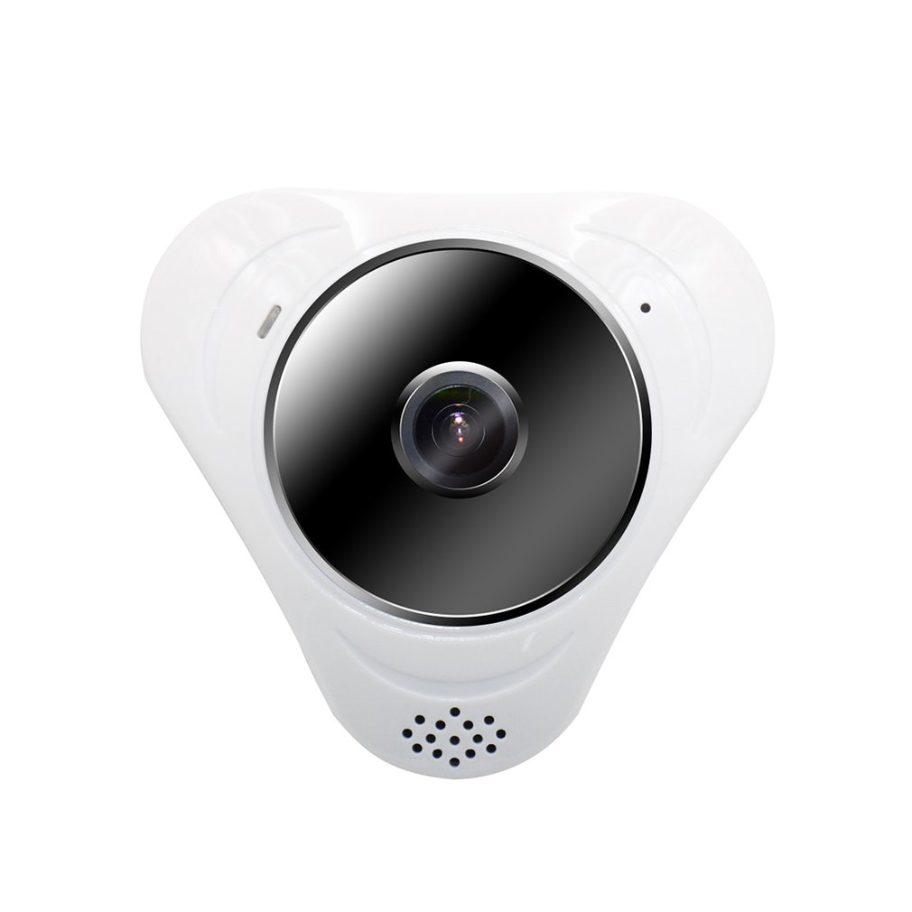 Caméra HD Wifi IP 360 degrés 3MP 1536*1536 panoramique haute définition Fisheye caméra réseau 1/3 capteur CMOS
