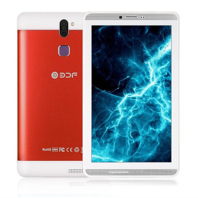 2018 Máy Tính Bảng Mới 7 Inch Android 6.0 Tablet Pc 3G Sim Điện Thoại Gọi 1024*600 Màn Hình Quad Core 1 GB/16 GB Flash Được Xây Dựng Bên Trong Máy Tính Bảng